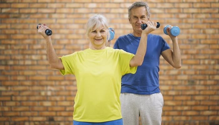 Wirbelsäulengymnastik für Senioren