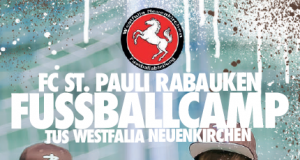 Jetzt anmelden zum FUSSBALLCAMP bei den FC St. Pauli Rabauken