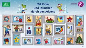 Digitaler Adventskalender für Familien mit Kindern im Kindergartenalter